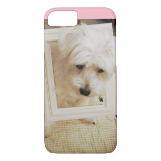 Funda Para iPhone 8/7 Caja del teléfono del perro maltés