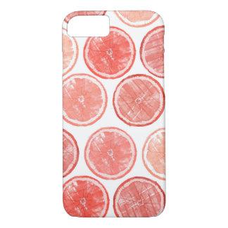Funda Para iPhone 8/7 Caja del teléfono del pomelo de la acuarela