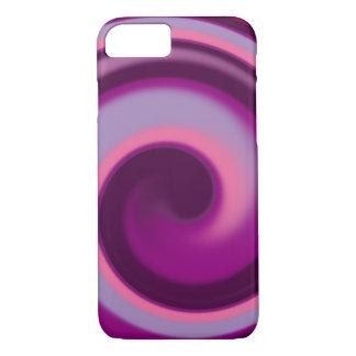 Funda Para iPhone 8/7 Caja del teléfono del remolino del caramelo