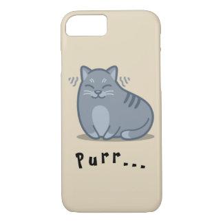Funda Para iPhone 8/7 Caja del teléfono del ronroneo del gato