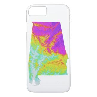 Funda Para iPhone 8/7 Caja del teléfono del teñido anudado de Alabama