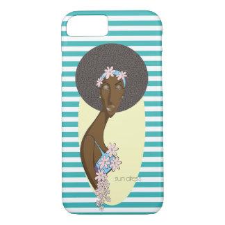 Funda Para iPhone 8/7 Caja del teléfono del vestido de Sun