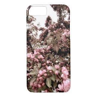 Funda Para iPhone 8/7 Caja descolorada del teléfono de las flores