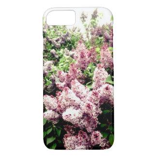 Funda Para iPhone 8/7 Caja descolorada del teléfono de las lilas