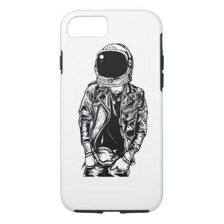 Funda Para iPhone 8/7 Caja dura del teléfono de Punkster del astronauta