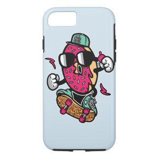 Funda Para iPhone 8/7 Caja dura del teléfono del patinador del buñuelo