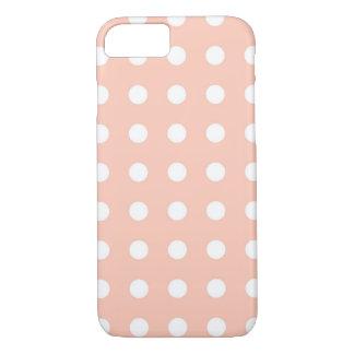 Funda Para iPhone 8/7 Caja elegante blanca rosa clara del iPhone 7 del