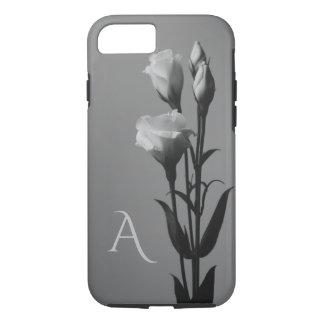 Funda Para iPhone 8/7 Caja elegante blanco y negro del iPhone del