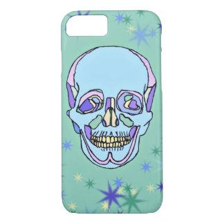 Funda Para iPhone 8/7 Caja en colores pastel azul, púrpura, verde del