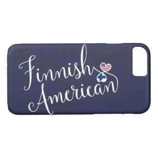Funda Para iPhone 8/7 Caja entrelazada americano finlandés del teléfono