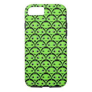 Funda Para iPhone 8/7 Caja extranjera verde linda del modelo