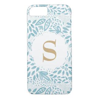 Funda Para iPhone 8/7 Caja floral personalizada del teléfono del