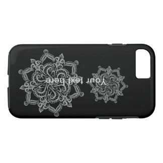 Funda Para iPhone 8/7 Caja fresca del teléfono del iPhone 7 del negro