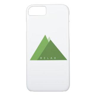 Funda Para iPhone 8/7 Caja minimalista del teléfono - relájese