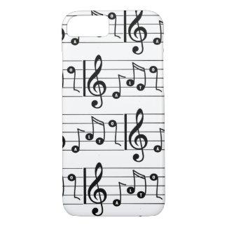 Funda Para iPhone 8/7 Caja musical del teléfono del cantante del alto