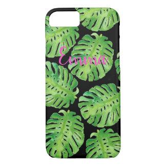 Funda Para iPhone 8/7 Caja personalizada selva verde del teléfono del