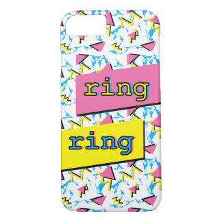 """Funda Para iPhone 8/7 Caja retra del teléfono anillo del anillo"""" del"""