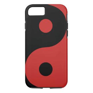 Funda Para iPhone 8/7 Caja roja del teléfono de Yin Yang