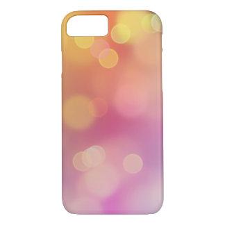 Funda Para iPhone 8/7 Caja rosada anaranjada del iPhone 7 de Apple de la