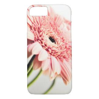 Funda Para iPhone 8/7 Caja rosada del teléfono de la margarita