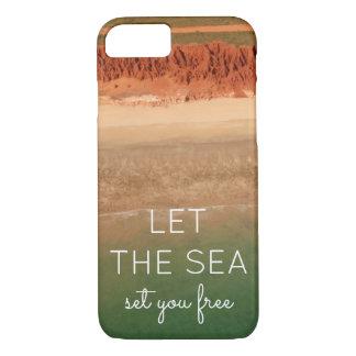 Funda Para iPhone 8/7 Caja temática del teléfono de la playa con el