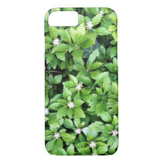 Funda Para iPhone 8/7 Caja verde del iPhone de la hoja