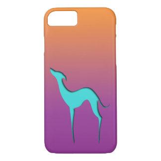Funda Para iPhone 8/7 Caja violeta anaranjada azul del iPhone 7 del