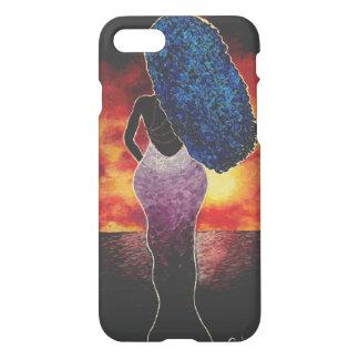 Funda Para iPhone 8/7 Caja viva del teléfono de la puesta del sol del