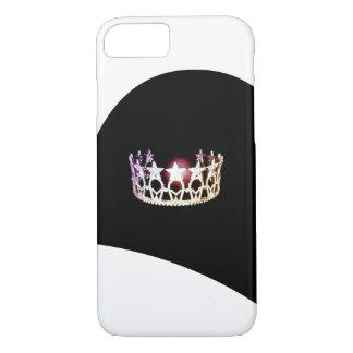 Funda Para iPhone 8/7 Cajas de plata del teléfono de la corona de la
