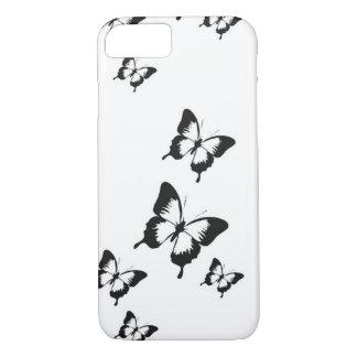 Funda Para iPhone 8/7 Cajas del teléfono de la mariposa