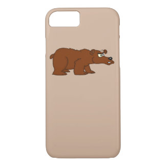 Funda Para iPhone 8/7 Cajas enojadas del iPhone del diseño del oso