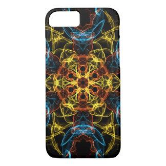 Funda Para iPhone 8/7 Caleidoscopio abstracto oscuro