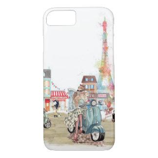 Funda Para iPhone 8/7 Calles lindas del collage de París