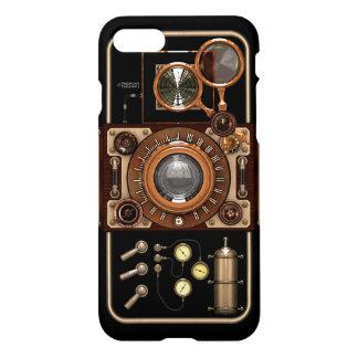 Funda Para iPhone 8/7 Cámara negra elegante retra del vintage de