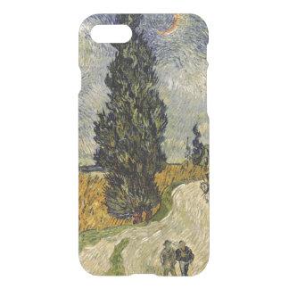 Funda Para iPhone 8/7 Camino con los cipreses, 1890 de Vincent van Gogh