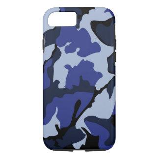 Funda Para iPhone 8/7 Camo azul, caso duro del iPhone 7