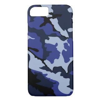 Funda Para iPhone 8/7 Camo azul, iPhone 7, caso de Barely There
