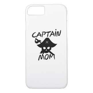 Funda Para iPhone 8/7 Capitán Mom Pirate Funny del traje de Halloween