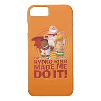 Funda Para iPhone 8/7 Capitán Underpants el | el anillo de Hypno hizo