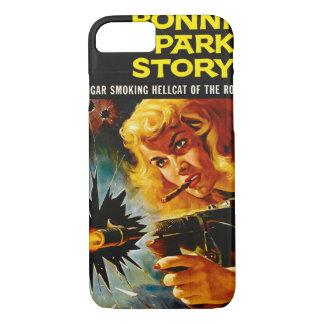 Funda Para iPhone 8/7 Cartel de película 1958 del crimen