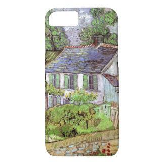 Funda Para iPhone 8/7 Casas de Van Gogh en Auvers, bella arte del