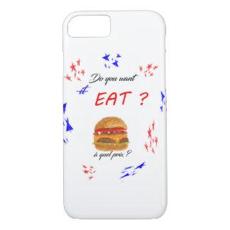 "Funda Para iPhone 8/7 ¿Casco ""DO you want EAT? """