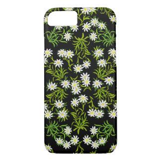 Funda Para iPhone 8/7 Caso alpino del iPhone 7 de las flores de