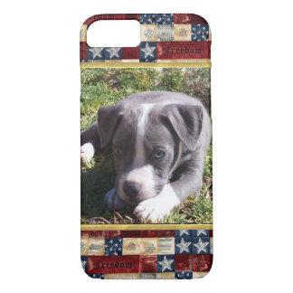 Funda Para iPhone 8/7 Caso americano del iPhone 7 del diseño del pitbull