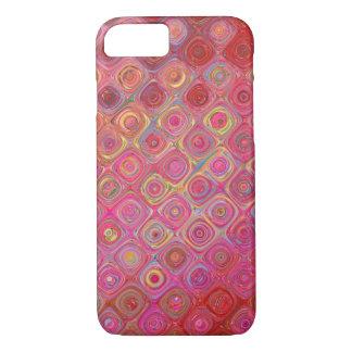 Funda Para iPhone 8/7 Caso artístico de Colourfull Iphone del rojo