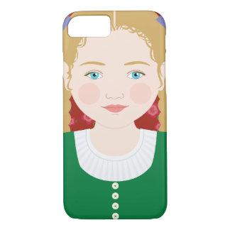 Funda Para iPhone 8/7 Caso austríaco de Matryoshka del chica