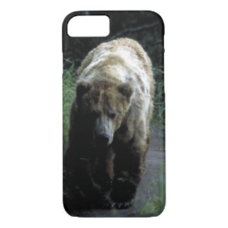 """Funda Para iPhone 8/7 Caso Barely There para el iPhone 7"""" oso grizzly """""""