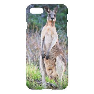 Funda Para iPhone 8/7 Caso brillante del iPhone 7 del canguro