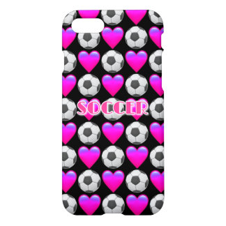 Funda Para iPhone 8/7 Caso brillante del iPhone 7 rosados de Emoji del