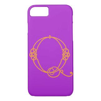 Funda Para iPhone 8/7 Caso céltico del iPhone 7 de la inicial Q